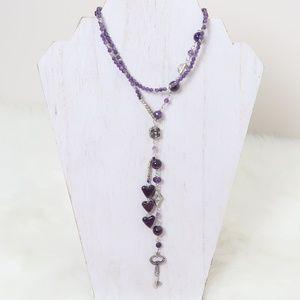 Luma Joyas Mexico Lariat Necklace Handmade